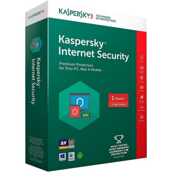 Kaspersky Internet Security 1 PC 1 Year