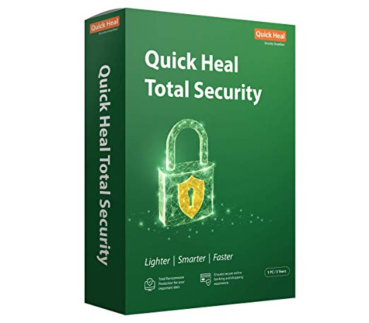 Quick Heal Total Security 1 PC 3 Years