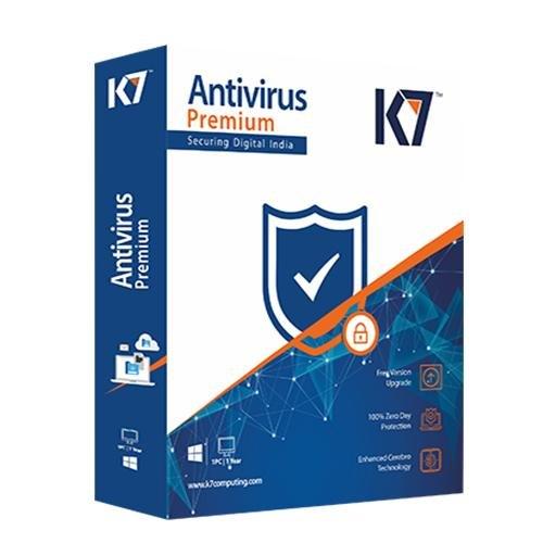 Renew K7 Antivirus Premium 1 PC 1 Year