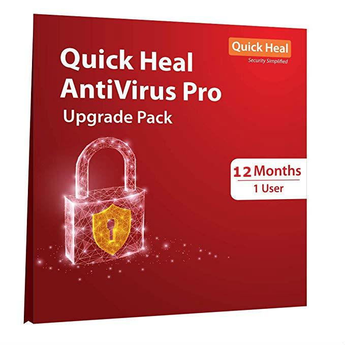 Renew Quick Heal Antivirus Pro 1 pc 1 Year