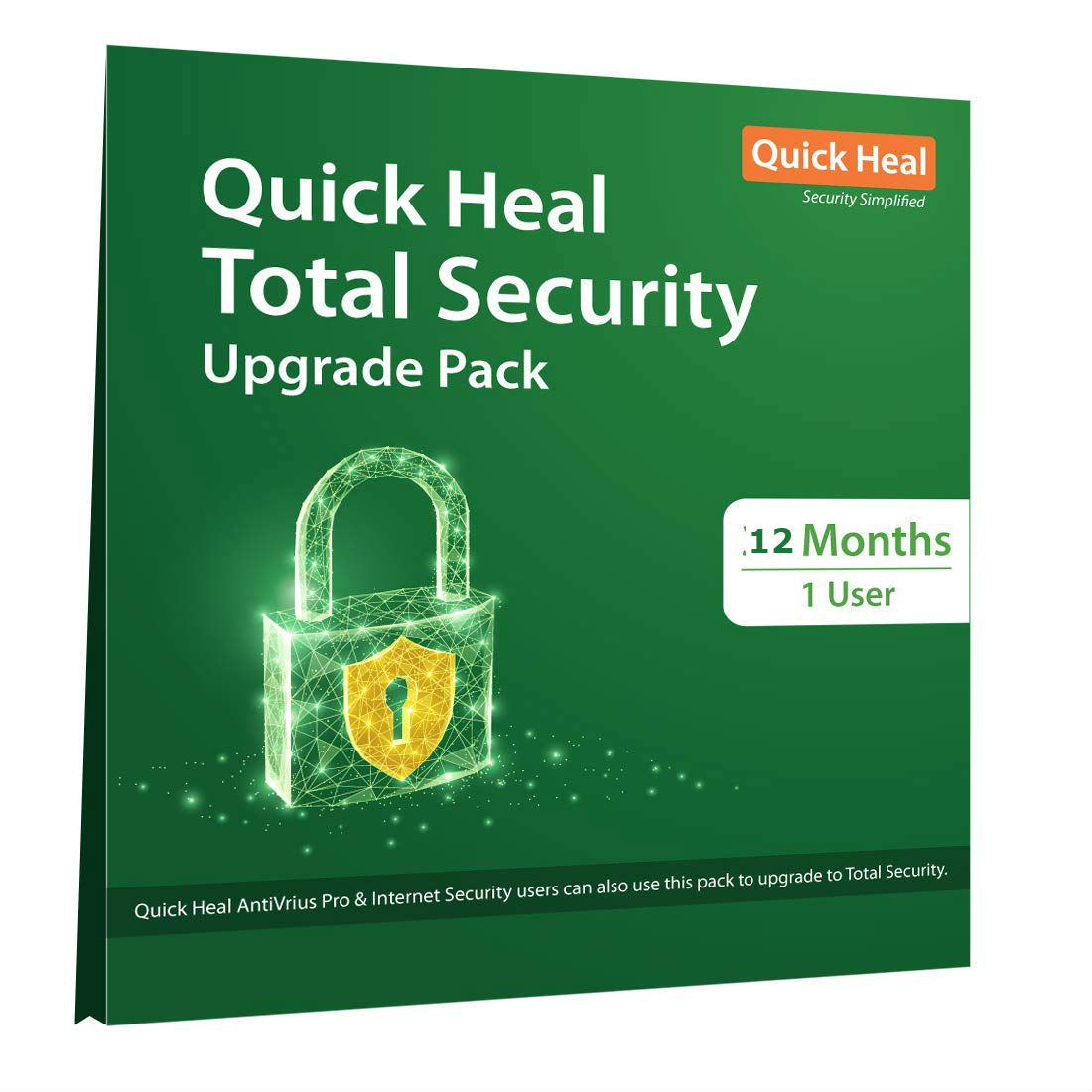 Renew Quick Heal Total Security 1 pc 1 Year