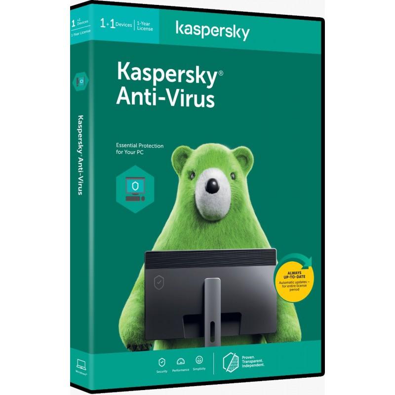 Kaspersky Antivirus 1 PC 1 Year