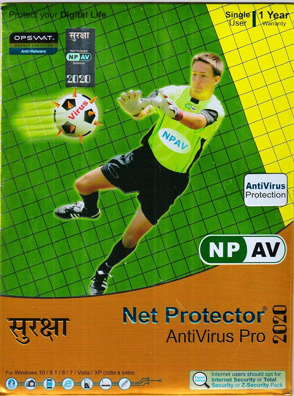 Net Protector Antivirus Pro 1PC-1Year